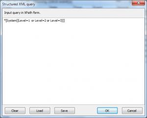 XML filter