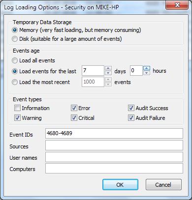 Filtering all the way | Event Log Explorer blog