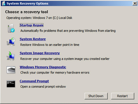 How to get to the recovery console in windows dummies.